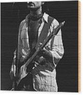 Paul Rocks Spokane 1977 Wood Print