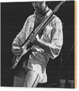 Paul Showing His Love To The Spokane Crowd In 1977 Wood Print