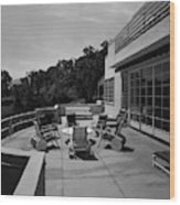 Paved Terrace At The Residence Of Mr. And Mrs Wood Print