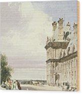 Pavilion De Flore, Tuileries, Paris Wood Print
