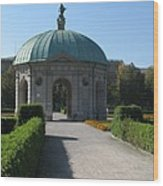 Pavilion Residence Garden - Munich Wood Print