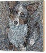Pawlick No. 1 - Pembroke Welsh Corgi Wood Print