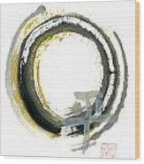 Pax - Zen Enso Wood Print