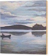 Payette Lake Idaho Wood Print