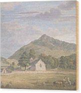 Haymaking At Dolwyddelan Wood Print