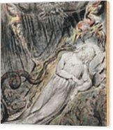 Pd.20-1950 Christs Troubled Sleep Wood Print