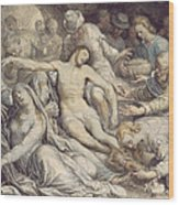 The Lamentation Over The Dead Wood Print