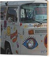 Peace And Love Van Wood Print