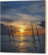 God Is The Sun Wood Print