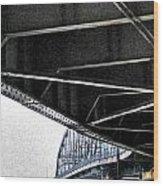 Peace Bridge 00e Wood Print