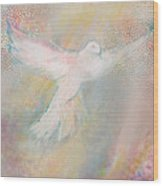 Peace Dove Wood Print