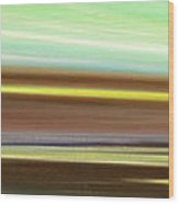 Peace Is Colorful - Panoramic View Wood Print