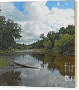 Peace River 2 Wood Print
