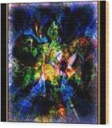Peace Series Xvii Wood Print