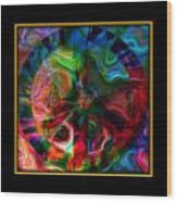 Peace Series Xxi Wood Print