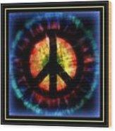 Peace Series Xxiii Wood Print