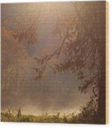 Peaceful Moments Wood Print