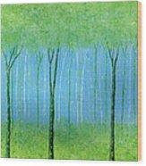 Peaceful Place Wood Print
