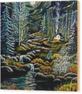 Peaceful Seclusion Wood Print