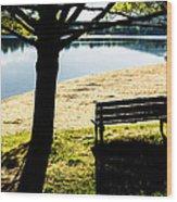 Peaceful Shadows Wood Print