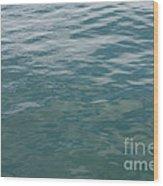 Peaceful Water Wood Print