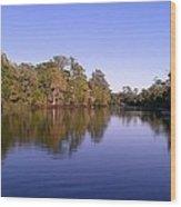 Peaceful Waters Wood Print