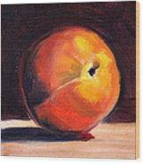 Peach 1 Wood Print
