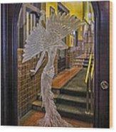 Peacock Room Door Wood Print
