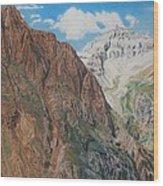 Peaks Of Ouray Wood Print