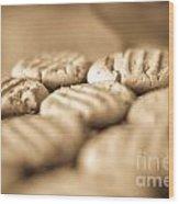 Peanut Butter Delights Wood Print