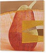 Pear 44 Wood Print