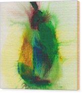 Pear Abstract 3 Wood Print