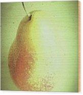 Summer Pear Wood Print