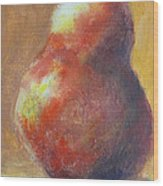 Pear Picked Wood Print