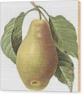 Pear Wood Print