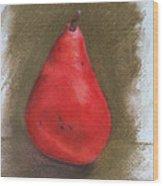 Pear Study 2 Wood Print