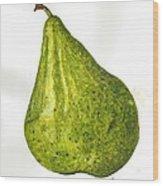 Pear Study#3 Wood Print