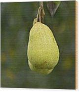 Pear Wine Wood Print