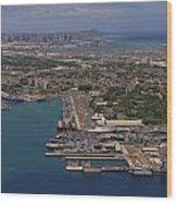Pearl Harbor 2012 Wood Print