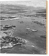 Pearl Harbor Wood Print