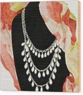 Pearl Tiers Wood Print