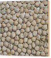 Peas Wood Print