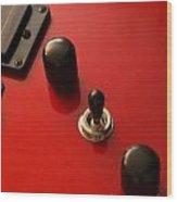 Peavey Guitar - 1 Wood Print