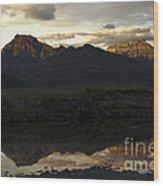 Pebble Creek Wood Print