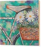 Pedal Petal Wood Print