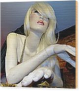 Peekaboo Blonde Wood Print