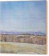 Peeper Season Wood Print by Grace Keown
