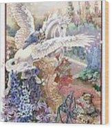 Pegasus Wood Print by Lynette Yencho