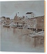 Peggy's Cove 3 Wood Print