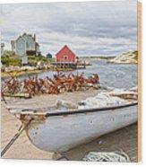 Peggy's Cove 4 Wood Print
